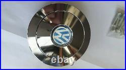 Vw Steering Wheel Boss Kit With Horn Push Chrome Classic Camper Van