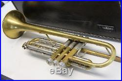 YAMAHA Silver YTR6345H II Trumpet YTR6345 Professional Horn with Case RAW BRASS
