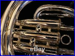 YAMAHA YBH-621S Baritone Horn Silver-plated With Original Case