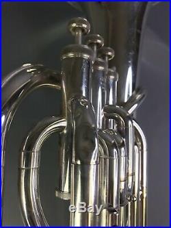 Yamaha YBH 301S Silver Baritone Horn with Original Case Japan