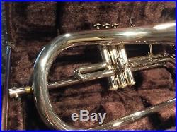 Yamaha YFH-2310s Silver Flugel Horn with case fantastic shape