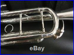 Yamaha YTR-9335CH-II Silver Bb Trumpet, Demo Horn with tags and box #PTR27